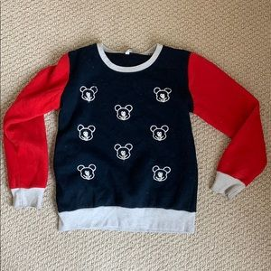 Stitched Mickey Sweatshirt